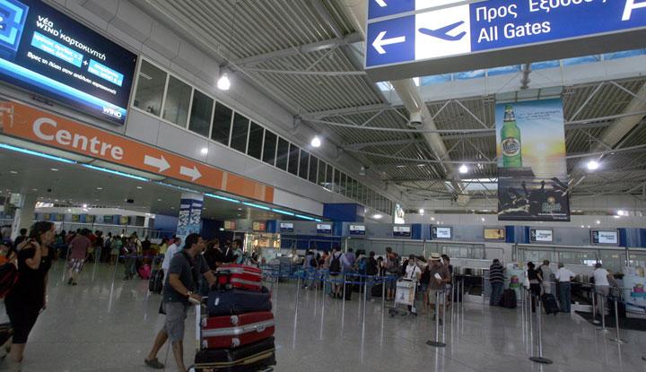 схема аэропорт ираклион
